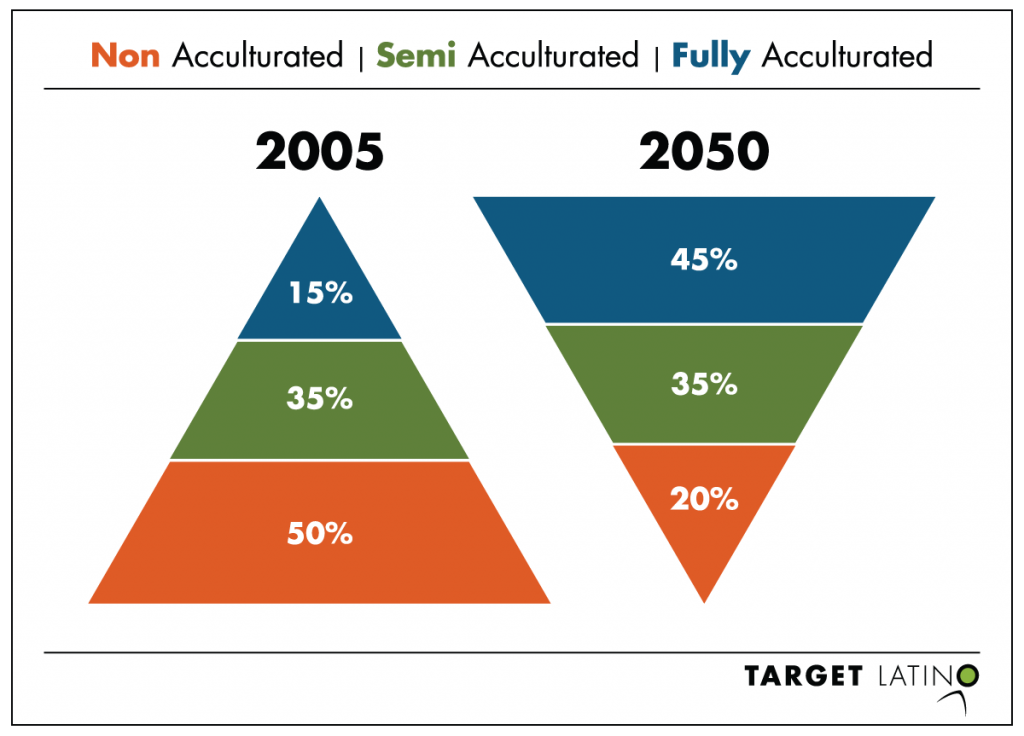 Hispanic Market Segments Size