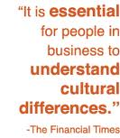 It is essential for people in business to understand Cultural Differences