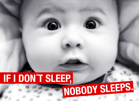 If I don't sleep, nobody sleeps.