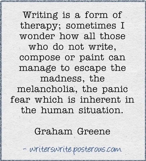 --Graham Greene quote