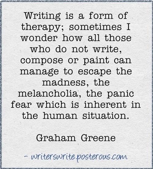 --Graham Greene quote