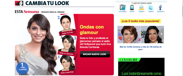 PeopleEnEspanol.com Launches New Interactive Tool: 'Cambia Tu Look'