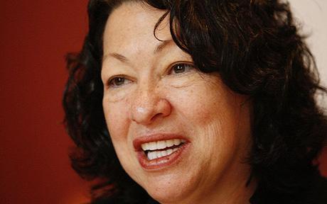 Sotomayor first Hispanic and third woman on the Supreme Court