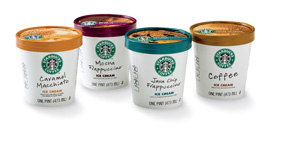 Starbucks ice-cream giveaway to Facebook users