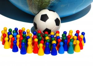 Soccer Mobile Marketing Campaign - A beetle on a mobile marketing soccer tour
