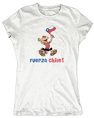 Chilean-inspired tee to benefit disaster relief