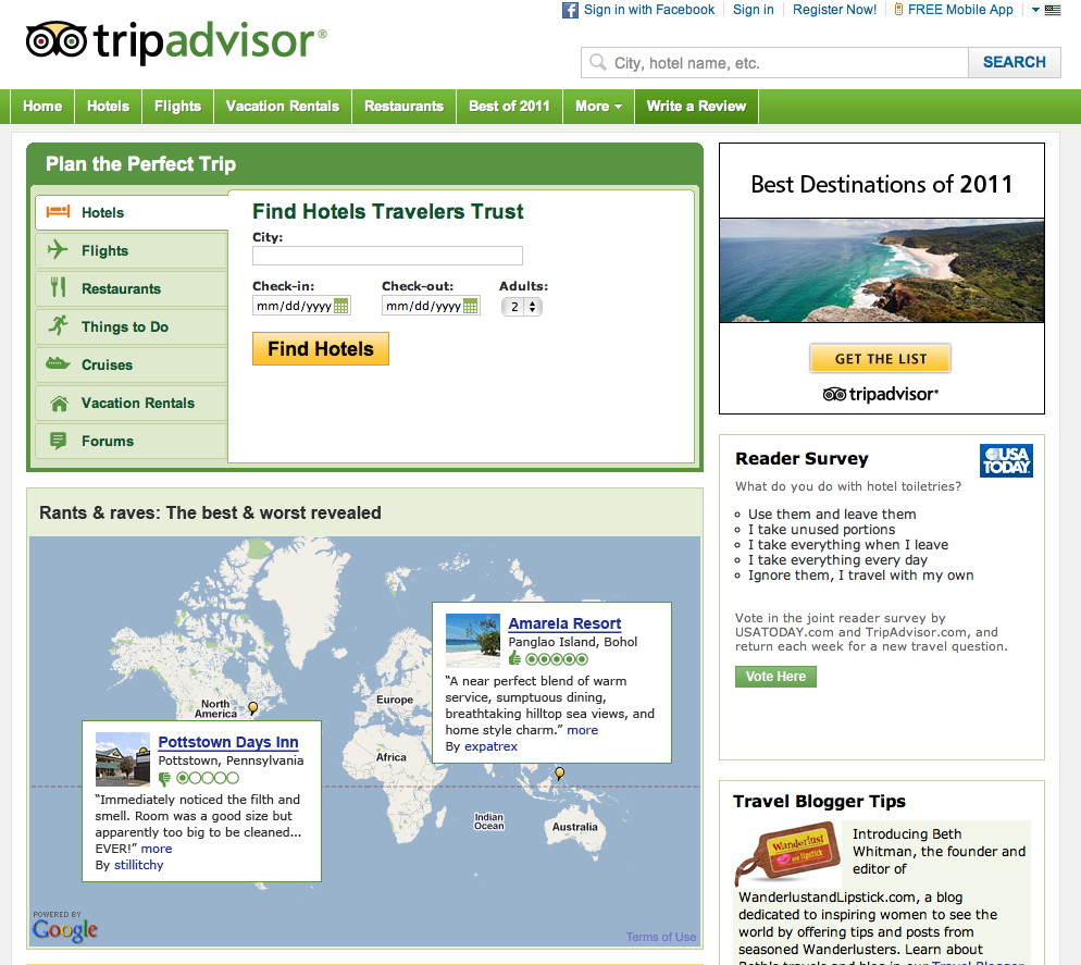 Executing a Social Media campaign for Travel and Tourism? See how TripAdvisor did it.