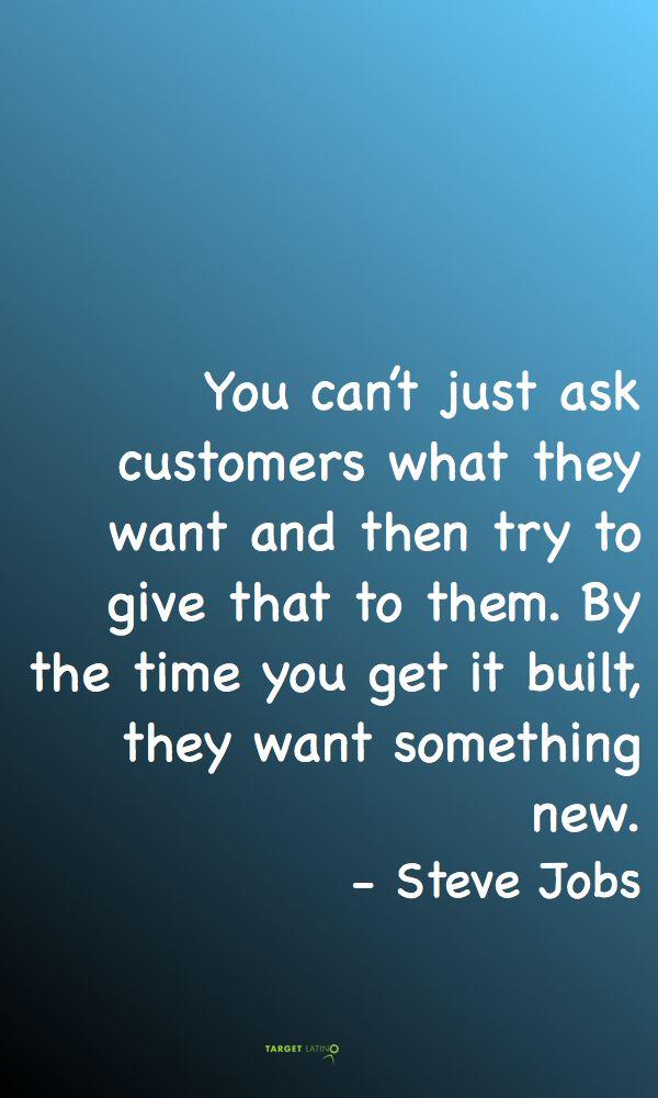 Steve Jobs #innovation