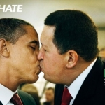 Benetton WOM Campaign - Obama & Chavez Poster