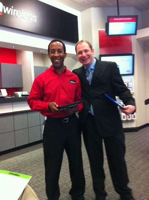 Baldwin and Keith the Verizon Wireless Workshop experts