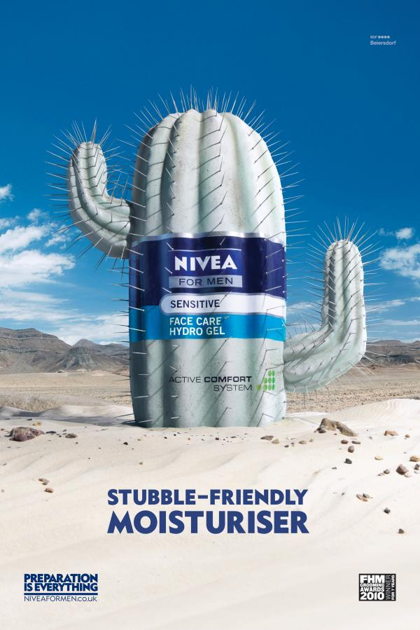 Cactus - Nivea advertisement