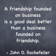 Rockefeller quotes on business