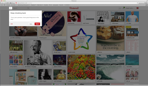 "Pinterest is rolling out ""Interests"", a new type of Pinterest search"