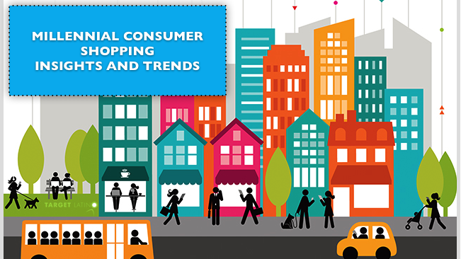 Millennial consumer shopping insights and trends - Copyright 2014 Target Latino