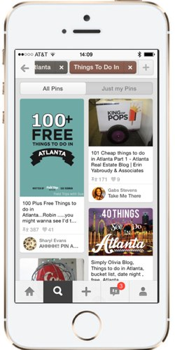 Pinterest Guided Search Things To Do in Atlanta