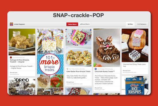 A Snap Crackle and Pop Pinterest Board