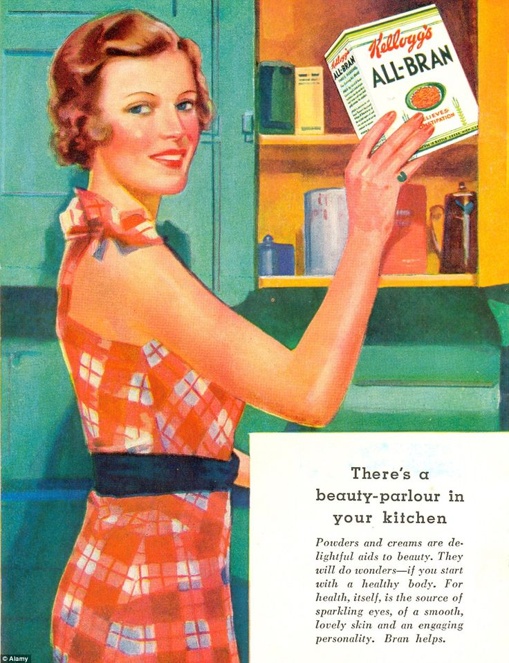 Kelloggs All Bran Vintage advertisement