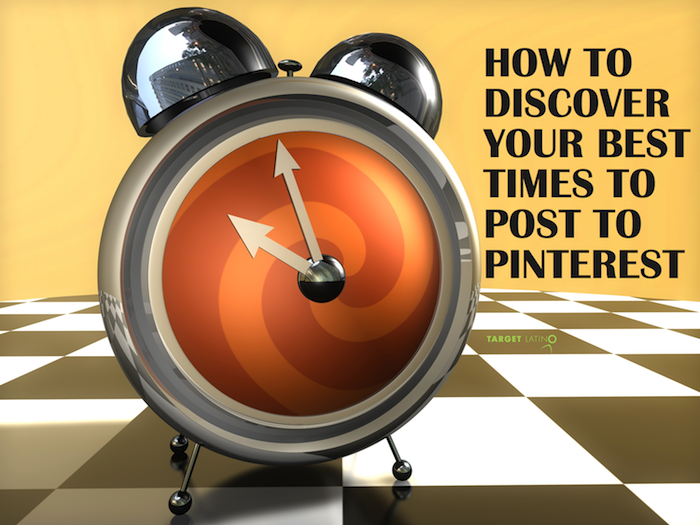 how to discover the best times to post to pinterest