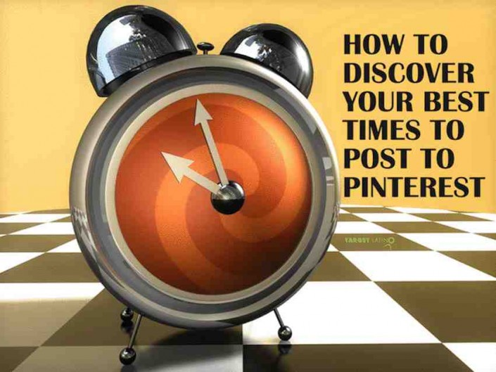 A surefire way to discover your best times to post to pinterest