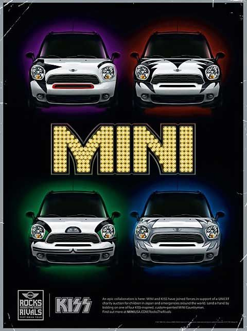 As part of the guerilla marketing ads campaign, MINI will be traveling from city to city offering test drives of the Countryman and 3 of its closest competitors.