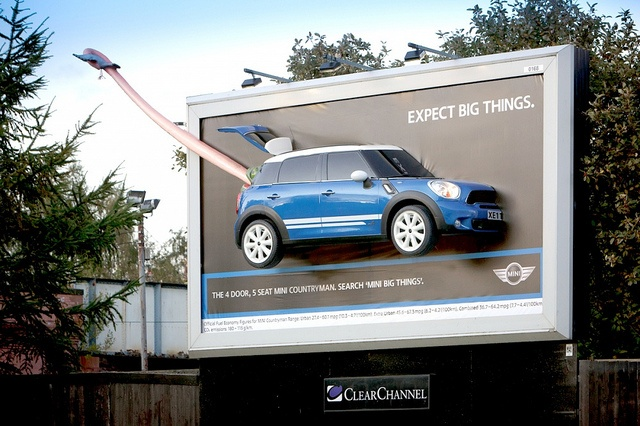 MINI Cooper Tongue Advertisement | MINI Countryman Expect Big Things