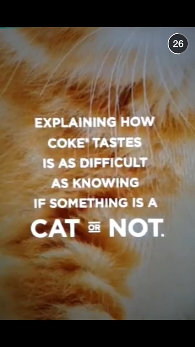 Coke Snapchat marketing campaign - Photo: Mobile Marketer