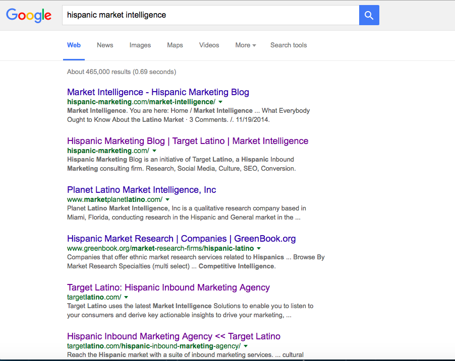 hispanic market intelligence